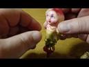 Ёлочная игрушка Сказка Чиполлино На прищепке 4 Чиполлино арестант