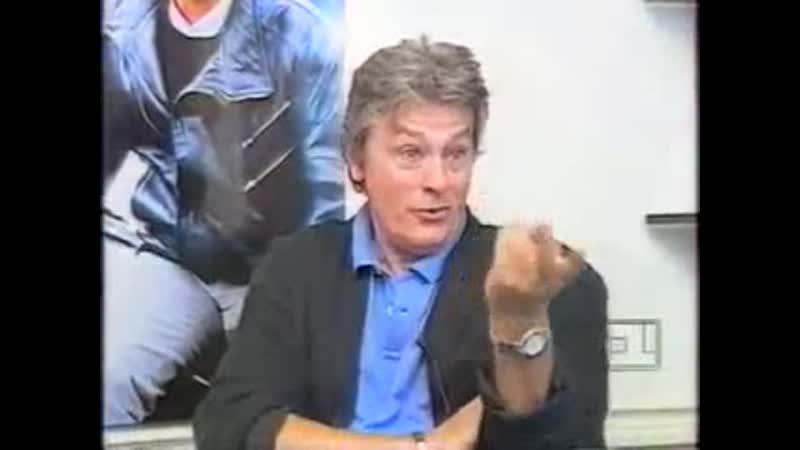 Ален Делон в программе Телезвезда 1 канал