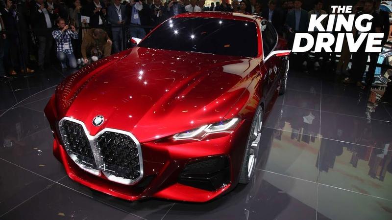 BMW Concept 4 - БМВ M4 которую мы хотим. Mercedes Vision EQS - будущее немецкого премиума