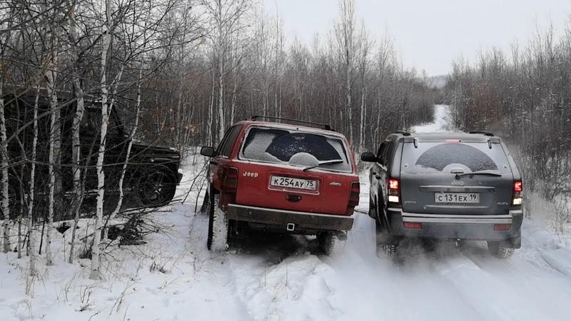 Тот случай когда уже пофиг на ЛКП Гелик Jeep Grand Cherokee Lada4x4 Bronto Surf OffRoad