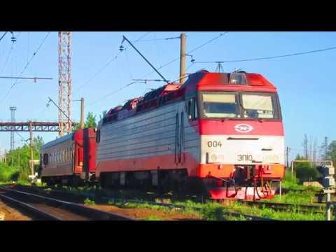 Электровоз ЭП10 004 в депо ТЧЭ 23 Бекасово БМО 26 05 2018