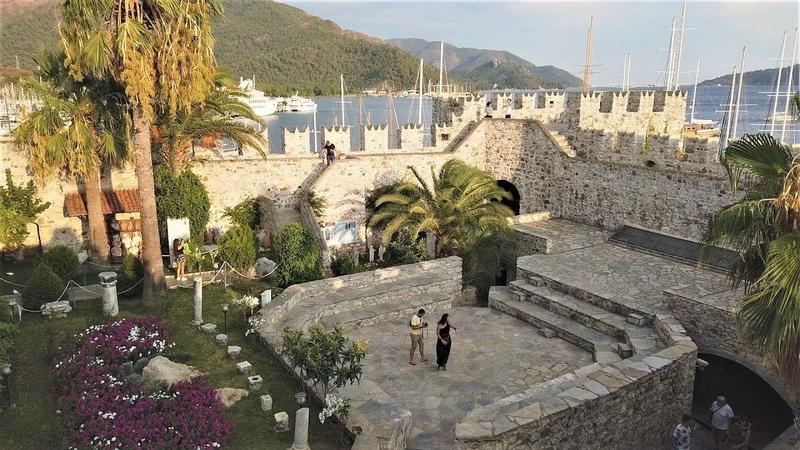 Marmaris Castle Museum in Marmaris, Turkey 2019