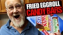 ANGRY GRANDPA'S FRIED CANDY BAR EGG ROLLS