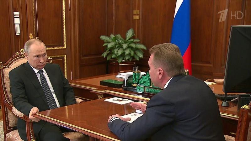 Владимир Путин обсудил с Игорем Шуваловым проекты госкорпорации развития ВЭБ РФ