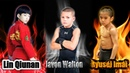 Lin Qiunan VS Ryusei Imai VS Javon Walton Amazing Martial KIDs