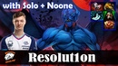 Resolution Night Stalker Offlane with Solo KOTL Noone SF Dota 2 Pro MMR Gameplay