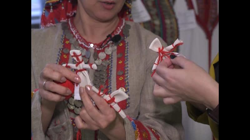 Мастер класс по изготовлению марийской куколки моталки
