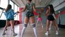 TWERK DANCE. GIRLS IN BELARUS. Nicki Minaj - MEGATRON.