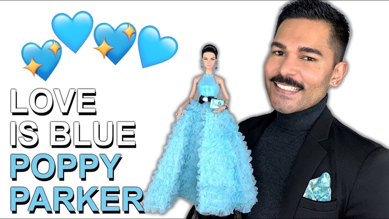 LOVE IS BLUE Poppy Parker Doll Integrity Toys Review