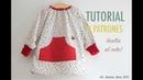 DIY La vuelta al cole: baby, mandilon o bata para guardería (patrones incluidos)