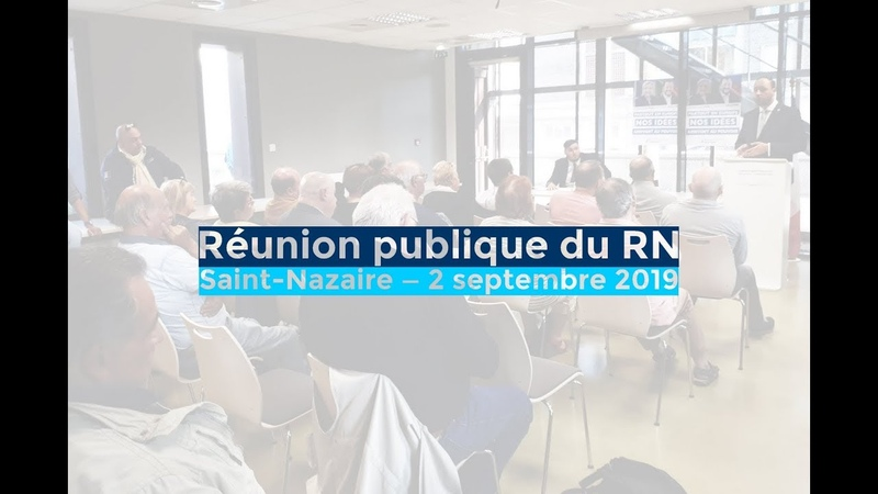 Municipales : réunion publique avec Gauthier Bouchet et Johnny Masson — Saint-Nazaire — 02.09.19