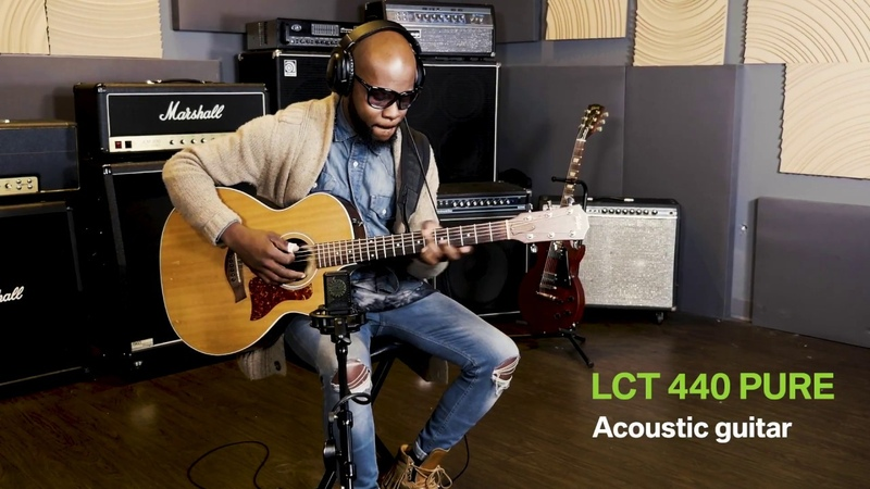 Erick Walls Acoustic Guitar Demo with the LCT 440 PURE