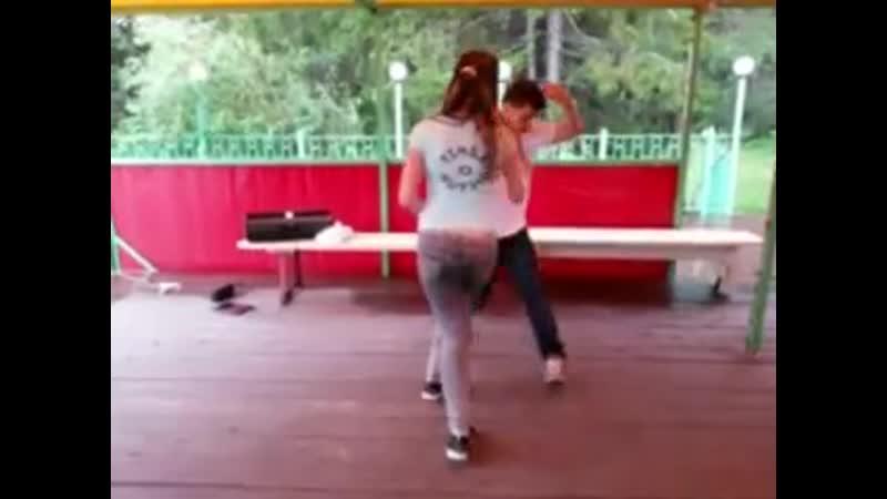 Мастер класс по тимбе от Юлии Телии и Дениса Мокрушина