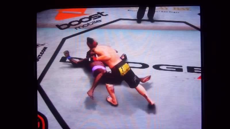 UFC Punk rocker Dan Hardy vs nigger rapper sissy boy.Панк Дэн Харди против ниггера пидора рэппера.11DeadFace