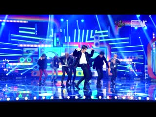 191018 Stray Kids  cover  2PM - Hands Up  ( K-Choreo 4K FanCam)  Music Bank
