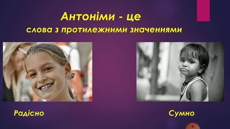 Колєва Оксана Іванівна. Групи слів за значенням синоніми, антоніми, омоніми