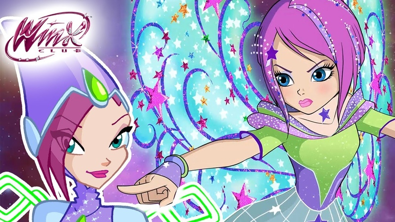 Winx Club - All the Tecnas transformations up to COSMIX [from SEASON 1 to 8]