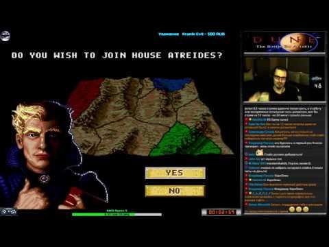Dune II Battle For Arrakis прохождение [Atreides] (U) | Игра (SEGA Genesis, Mega Drive) Стрим RUS