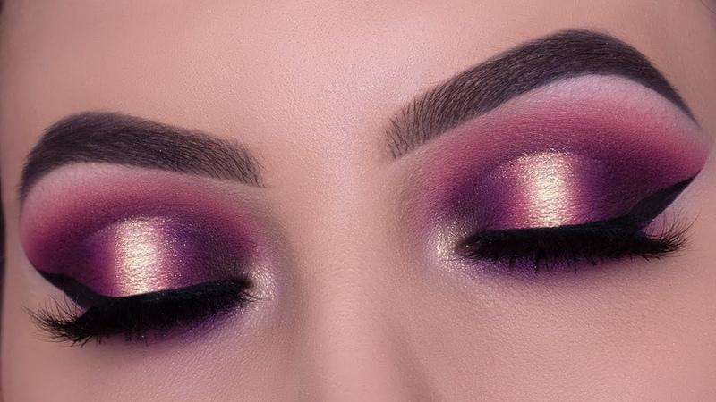 Jackie Aina x ANASTASIA BEVERLY HILLS Palette | Smokey Halo Eye Look