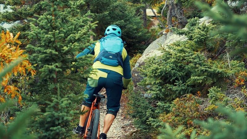 Mountainbiking in Newfoundland VAUDE