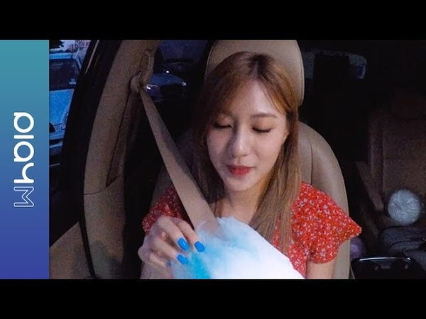 OH HAYOUNG 오하영 Don't Make Me Laugh with 솜사탕 차 안 라이브