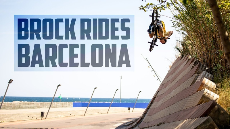 BROCK RIDES BARCELONA | 2019 Brock Horneman, Monster Army insidebmx