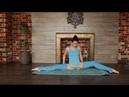 Amazing gymnastics, contortion flexibility yoga - stretching routine standing splits
