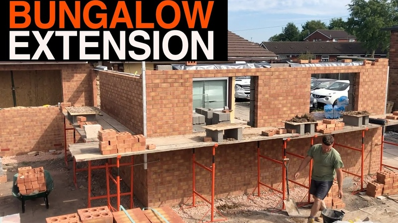 Bricklaying Massive Bungalow Extension