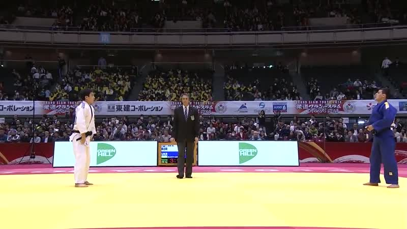 ZANTARAIA Georgii UKR - AN Baul KOR. -66 kg . Grand Slam Tokyo 2014