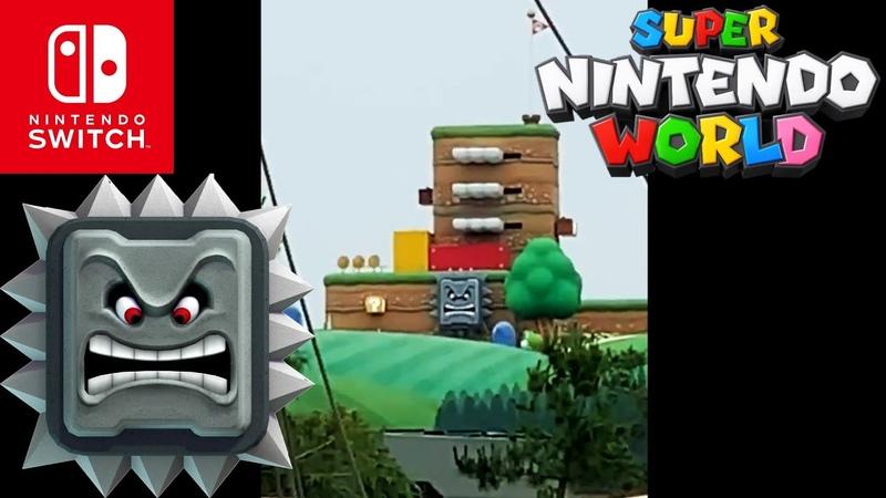 Super Nintendo World - Roca Picuda Primer Vistazo HD