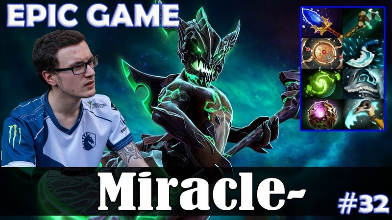 Miracle - Outworld Devourer MID | EPIC GAME with Crit (Rubick) | Dota 2 Pro MMR Gameplay 32
