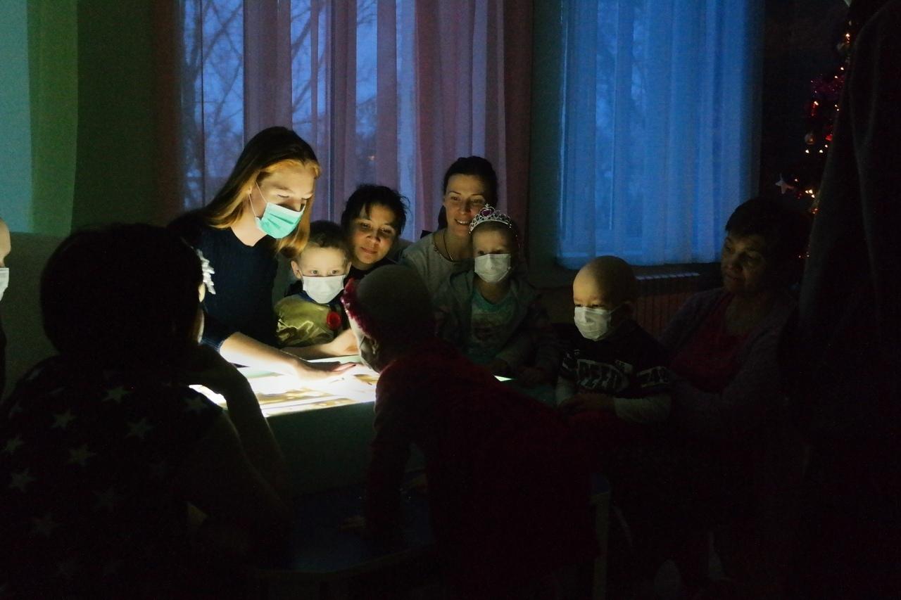 День Святого Николая в  отделении детской онкогематологии