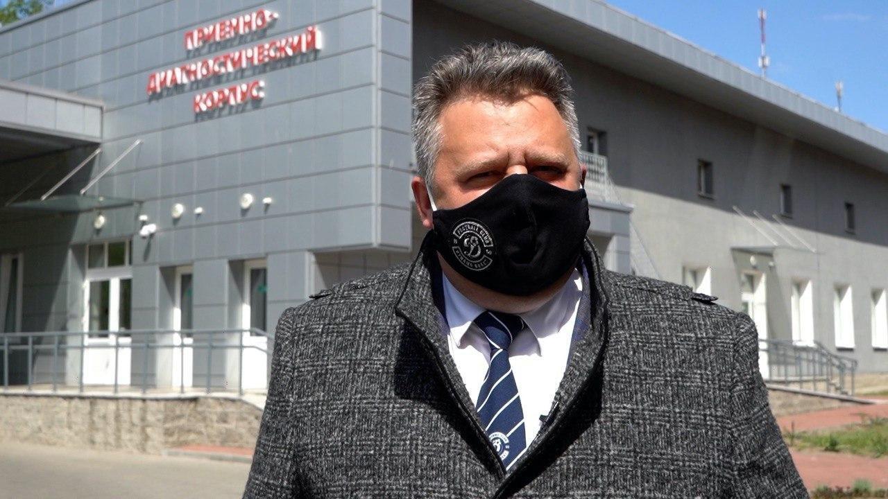 Динамо-Брест помогает белорусским медикам