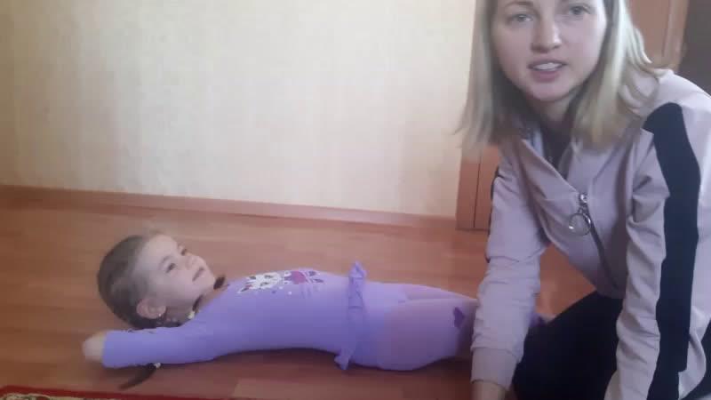 детская парная гимнастика