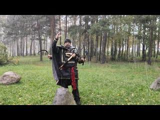 НевоГрад. Святилище Поклонная Гора. Верховный Жрец Славян БогоМил II. Речь Зимней Крупы