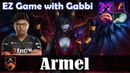 Armel - Queen of Pain MID | EZ Game with Gabbi (Riki) | Dota 2 Pro MMR Gameplay