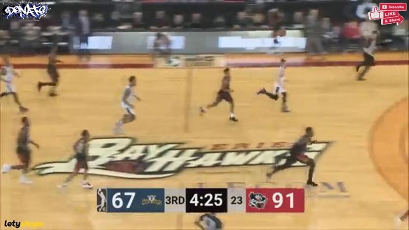 Omari Johnson 19 points Highlights vs Erie BayHawks