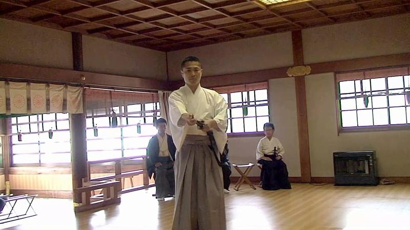 Muso Jikiden Eishin Ryu iai at Yuuki Jinja in Tsu, February 25th, 2018