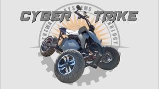 Building The 'Cyber Trike' - Electric Leaning Tadpole (Reverse) Trike