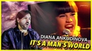 REACTION   Diana Ankudinova - It's A Man's World   Диана Анкудинова