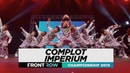 COMPLOT IMPERIUM FRONTROW Team Division World of Dance Championship 2019 WODCHAMPS