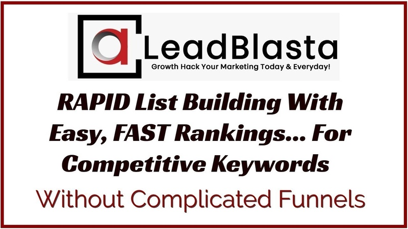 Rapid List Building FAST Page 1 Rankings Home Run