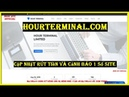 Hourterminal - Hyip Paying   Cập Nhật Rút Tiền Và Cảnh Báo