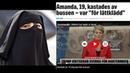 """Spagetti - Essen mit Niqap ( Burka ) Busfahrer schmeißt Schwedin raus: """"Du zeigst zu viel Haut"""""""
