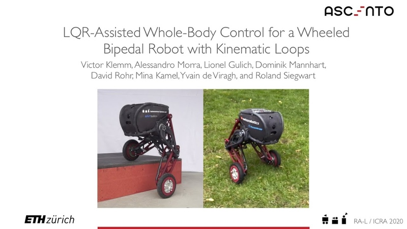 ICRA20 Presentation LQR-Assisted Whole-Body Control of a Wheeled Bipedal Robot with Kinematic Loops
