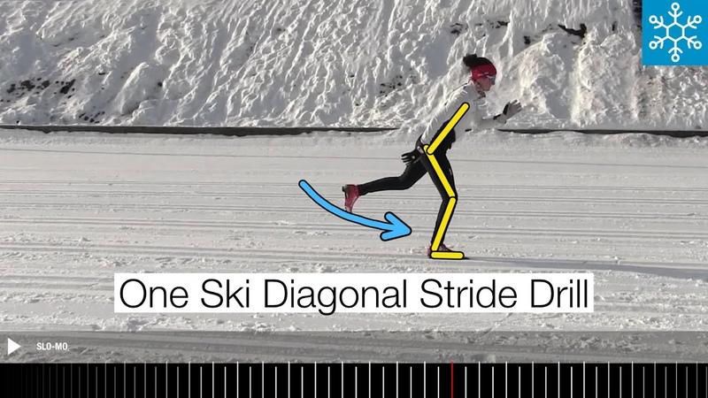 Diagonal Stride Technique Drill