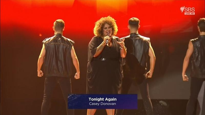 Casey Donovan Tonight Again Eurovision Australia Decides 2019
