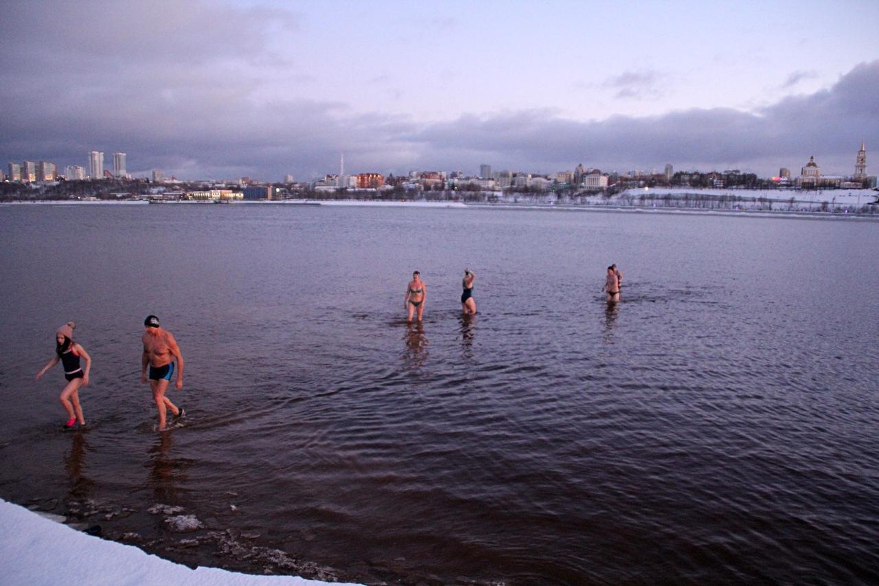 Крещенские купания 2020 г. в Перми