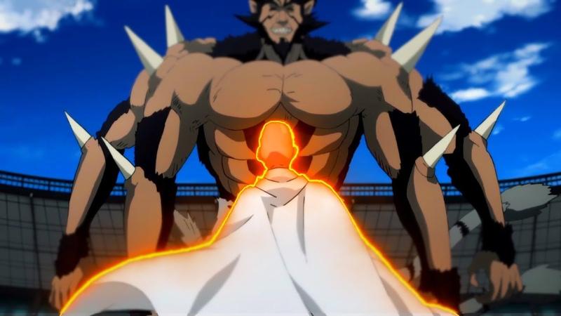 Сайтама с легкостью победил Бакузана и Гокецу. Сайтама против Бакузана и Гокецу. 2 СЕЗОН ВАНПАНЧМЕН