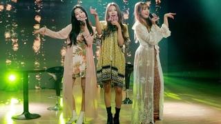 [Fancam]  Señorita (cover by Hyogyeong, Sihyeon, Jueun) @ Debut Showcase
